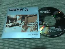 TRISOMIE 21 - RAW MATERIAL CD BELGIUM 90 PLAY IY AGAIN SAM SYNTH WAVE