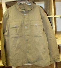 UGG Men's Cohen Waxed Cotton Jacket Color: Dark Khaki Size:X-Large Nwt