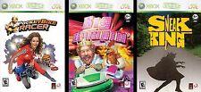 burger king xbox 360 video game set (3 games)