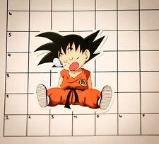 """Dragon Ball Z  Sleeping Goku / Kid Goku - 5"""" Vinyl Sticker/ window decal DBZ"""