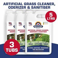 3X5 Litres Spifiredirect Artificial Grass Cleaner Disinfectant + Deodoriser