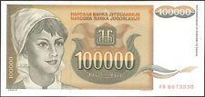 TWN - YUGOSLAVIA 118 - 100000 Dinara 1993 UNC Prefix AB