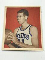 1948 Bowman Basketball Card #43 Charles Halbert Boston Celtics