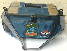 Wicked Gear Bandit Fishing Tackle Bag Includes 3-3700 Utility Storage Boxes Tray