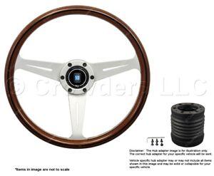 Nardi Classic 360mm Steering Wheel + MOMO Hub for Volvo 780 5061.36.1090 + 9011