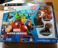 DISNEY INFINITY 2 Marvel Super Heroes STARTER PACK With 3 Figures SEALED New PS3