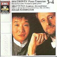 Beethoven: Piano Concertos 3 & 4 / Melvyn Tan / Roger Norringtron