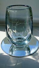 Large Stunning Vintage Scandinavian Engraved Glass Vase.