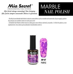Mia Secret - Nail tint - Marble Nail Polish - Pick Your Color