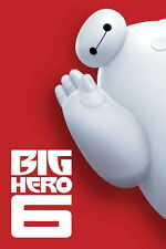 "022 Big Hero 6 - 2014 American Hot Movie Film 14""x21"" Poster"