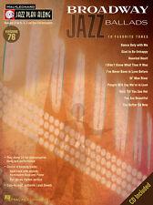 Broadway Jazz Ballads: 10 Favorite Tunes Vol. 76