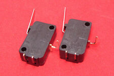 2 Pcs Micro Switch V7-2B17P NC NO 10A 125V 250VAC Momentary Lever SPDT Limit U