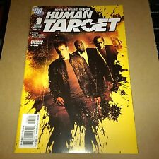 DC Human Target comic issue 1 DC variant NM- ( 9.2 ) TV PHOTO COVER MARK VALLEY