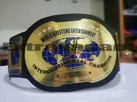 WWE IC Oval INTERCONTINENTAL WRESTLING CHAMPIONSHIP Belt Adult Size  (2MM)