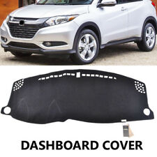 Dash Mat Dashboard Cover For Honda HR-V HRV 2016 - 2019 Dashmat Pad Carpet Black