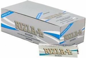 RIZLA Micron Rolling papers Standard Size Rizla Regular Skins 1/2/5/10/20/50/100