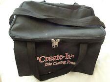 Black Craft Tote Storage Bag With Shoulder Strap