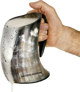 OX Viking Drinking Horn Mug Game of Thrones Gift For Father/Friends/Realative