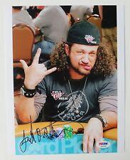 Joseph Reitman Signed Full Tilt Poker Autographed 8x10 Photo (PSA/DNA) #T46395