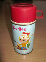 """Vintage Liddle Kiddles Kiddle Thermos 6 1/2"""" Tall"""
