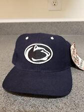 Campus Hats Penn State University PSU Nittany Lions Three Tone Top Vintage Adult Men//Womens Fitted Baseball Cap//Hat Size Medium Large