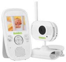 Uniden BW3001 Wireless Baby Video Audio Monitor Walkie Talkie Mic