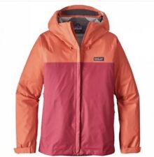 NWT Patagonia Women's Torrentshell Rain Jacket - Carve Coral Size XS