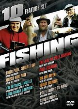 Fishing: 10 Feature Collection (DVD, 2006, 5-Disc Set) *NEW* *FREE Shipping*
