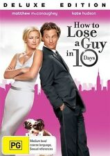 HOW TO LOSE A GUY IN 10 DAYS Matthew McConaughey, Kate Hudson DVD NEW