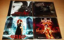 Melodic Hard Rock, Metal CD LOT Outloud + Lucky Bastardz + Nasty Whores + Kaisas