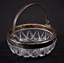 Russische Kristall Schale 875er Silber Moskau Russland