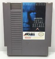 Nintendo NES Total Recall Video Game Cartridge *Authentic/Cleaned/Tested*