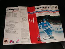 1988 Pro-Sport Autograph HOCKEY Card SET ° LOT OF OF 6 PETER STASNY CARDS °