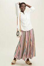 Anthropologie Philina  White 100% Linen Blouse Shirt Size UK 16 RRP £85