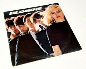 """Blondie """"Blondie"""" 1977 Chrysalis Press Excellent +++ Vinyl LP"""