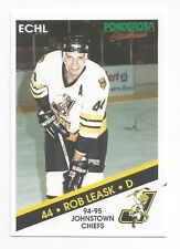 1994-95 Johnstown Chiefs (ECHL) Rob Leask (Straubing Tigers)