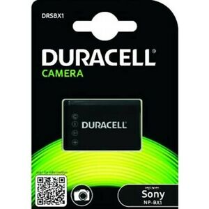 Duracell DRSBX1 Sony NP-BX1 Replacement Battery - OFFICIAL UK STOCK