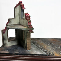 Rovine di costruzione modello in scala 1:35 per la scena della tavola di