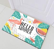Tropical Summer Flamingo Non-skid Kitchen Mat Rome Floor Carpet Home Area Rugs