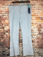 Ladies Marks & Spencer Lower Waist Bootleg Size 14 Long Jeans Washed Blue W34/34