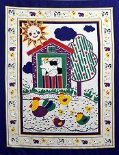 "1 ""Barn Yard"" Baby #1 Panel Fabric"