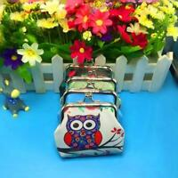 Womens Fashion Mini Owl Wallet Card Holder Case Coin Purse Clutch Handbag Bag