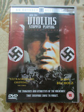 AND THE VIOLINS STOPPED PLAYING 1998 WAR FILM DVD REGION 2 UK PAL