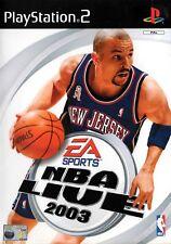 NBA Live 2003 PS2 (PlayStation 2) - Free Postage - UK Seller