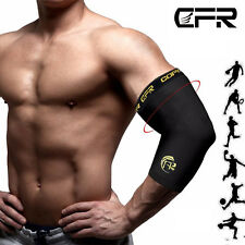 NEW Elbow Support Brace Copper CFR Compression Sleeve Fit Arthritis Arm Protect