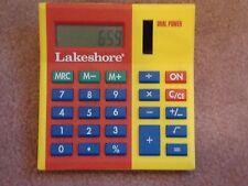 Lakeshore Learning Big Digit Desk Top Calculator MATH Classroom Home School Kids