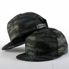 WUKE Camouflage Baseball Cap Tactical Snapback Sun Trucker Hat Cotton Army Green