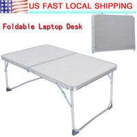 "24"" Portable Laptop Desk Lap Table Stand Sofa Bed Tray Computer Notebook Desk"