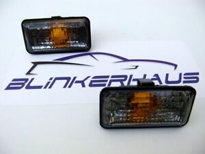 VW GOLF MK2 RALLYE MK3 JETTA PASSAT SEAT IBIZA SMOKED FENDER SIDE MARKER LIGHTS