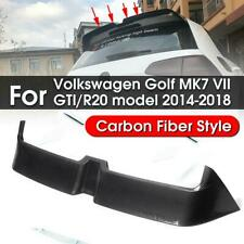 Carbon Fiber Style Roof Wing Spoiler For Volkswagen Golf 7 MK7 VII O Style GTI R